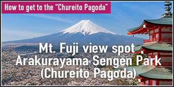 How to get to the Chureito Pagoda