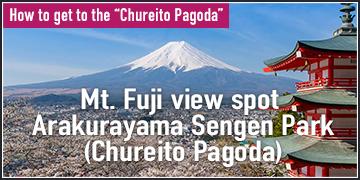 How to get to the Chureito Pagoda