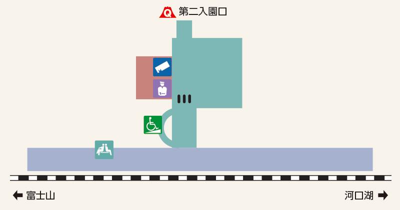 富士急ハイランド構内図